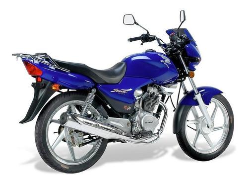 cupulina honda storm 125 negro - dos ruedas motos