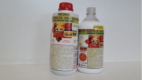 curador pisos ceramicos y lajas siliconado cream99 roblecer