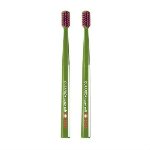 curaprox  cepillo de dientes súper suave sensible cs 3960