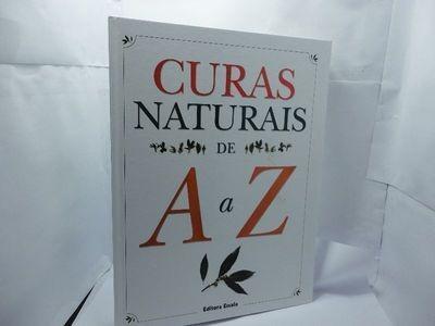 20aa5acac09de Curas Naturais De A A Z - Editora Escala - Foto Original - R  40