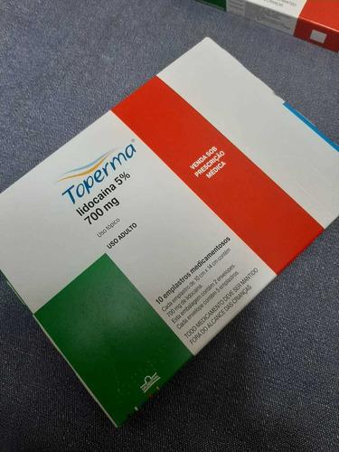 curativo terapeutico toeprma  locoaina 5% 700 mg 10 emplasto