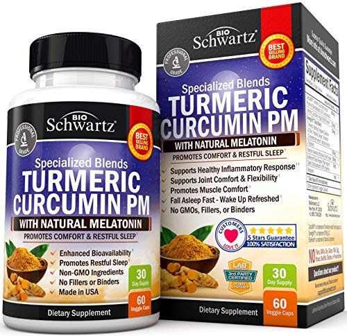 cúrcuma curcumina ayuda sueño  melatonina - pastillas do