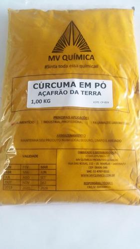 cúrcuma em pó / açafrão da terra - 1kg
