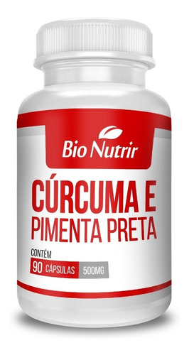 cúrcuma + pimenta preta - kit com 8 - anti-inflamatório