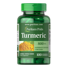 Curcuma Turmeric 800 Mg - 100 Capsu - Unidad a $37