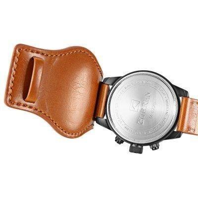 curren masculino relógio