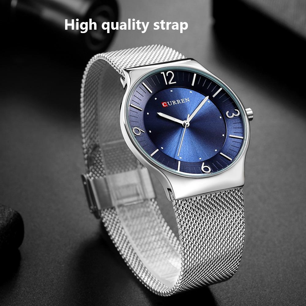 curren relojes nueva moda simple estilo hombres de negocios. Cargando zoom. 0d3c6c85a617