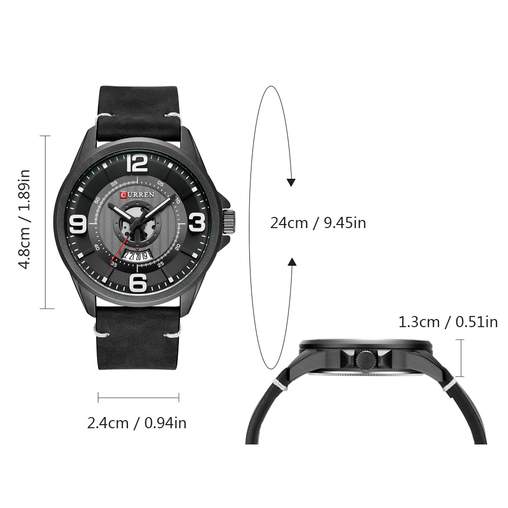 curren watches moda negocios hombres relojes quartz masculin. Cargando zoom. f50265d8ae98