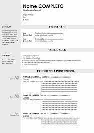 currículo vitae profissional (vários modelos)