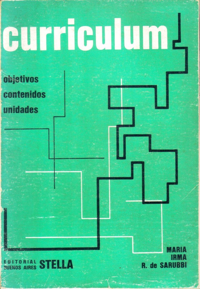 Curriculum - M. De Sarubbi - Objetivos, Contenidos, Unidades - $ 72 ...