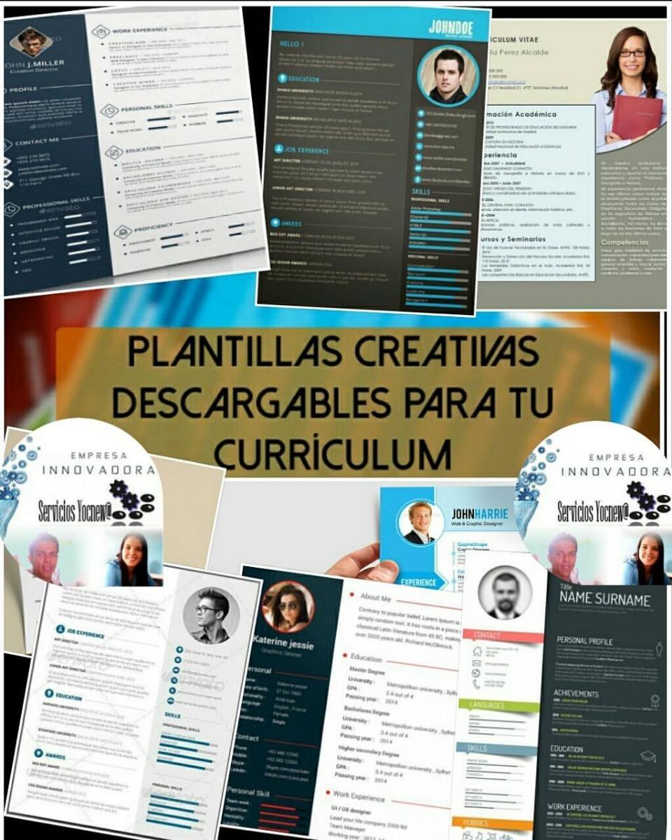 Famoso Creador De Curriculum Vitae Imprimible Gratis Imágenes ...