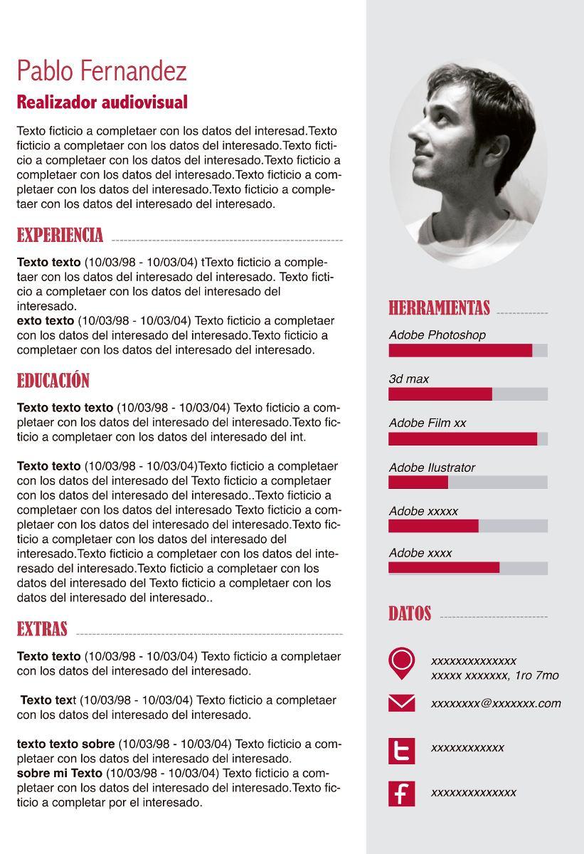 Curriculum Vitae Cv - $ 300,00 en Mercado Libre