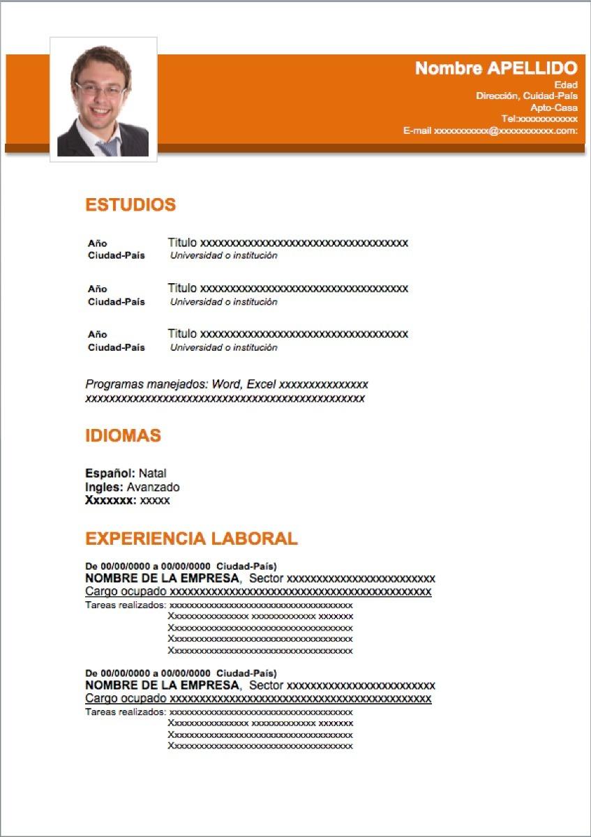 Dorable Empresa De Curriculum Vitae Compró Ornamento - Ejemplo De ...