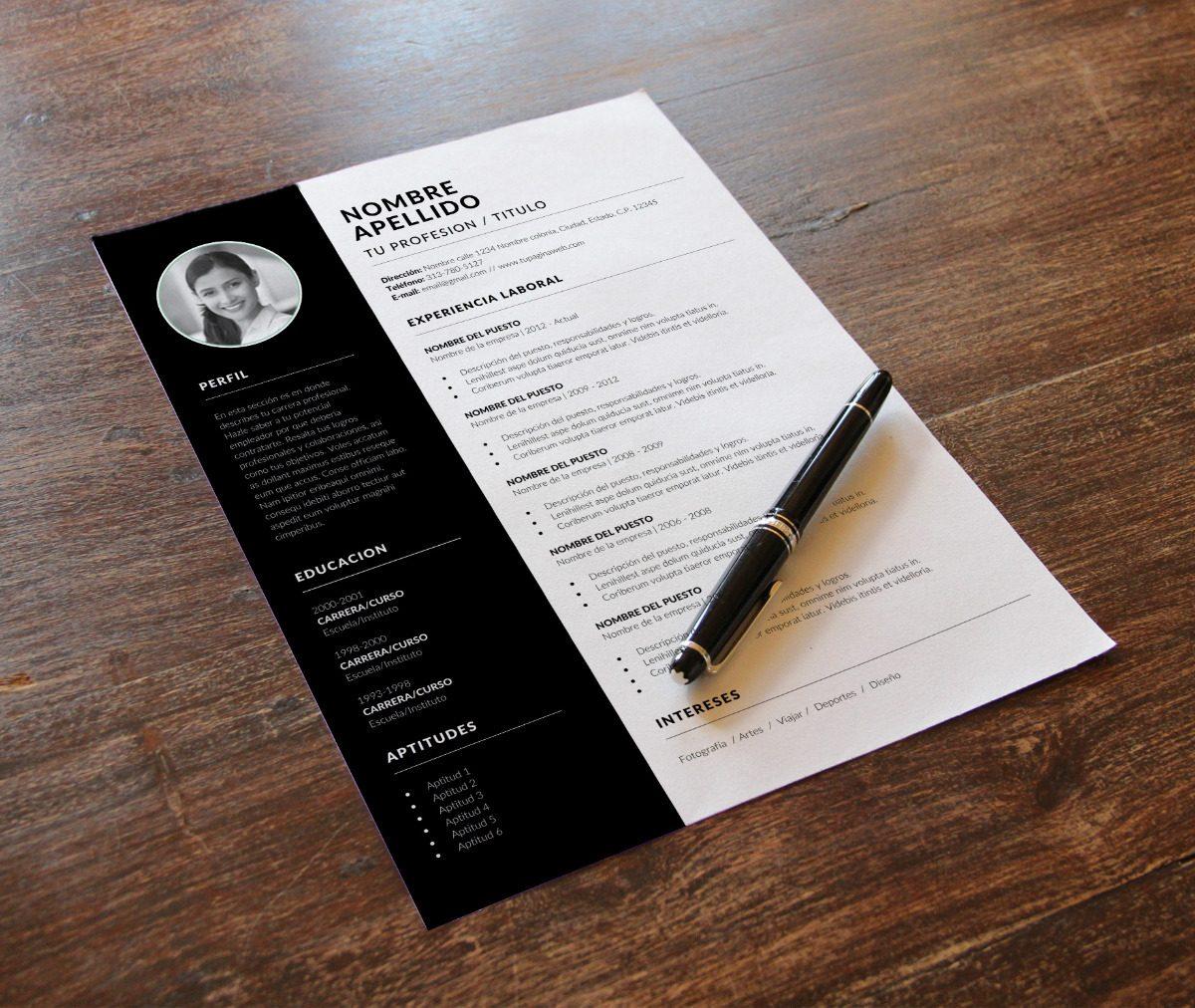 Curriculum Vitae Profesional En Inglés - Incluye Redacción ...