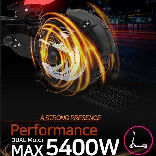 currus panther / 5400 watts dual motor / no dualtron x