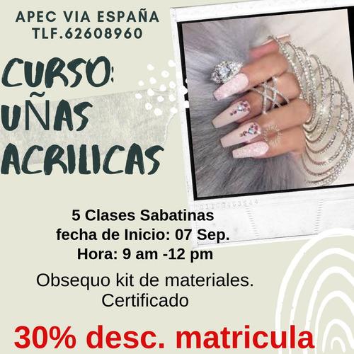 curso 100% practico uñas acrilicas
