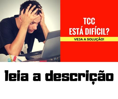 curso a fórmula do tcc [nota 10]