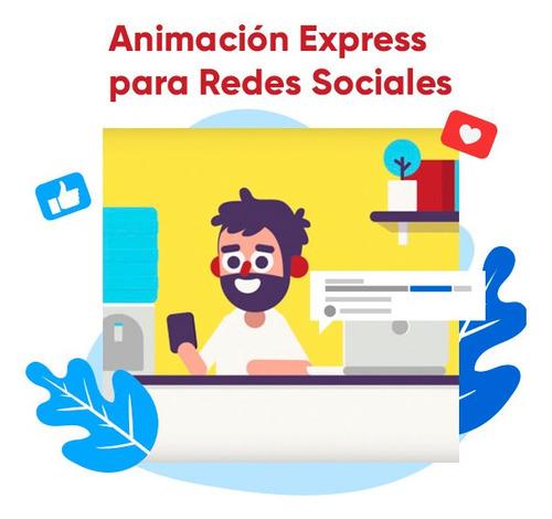 curso animación express para redes sociales, after effects