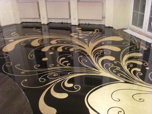 curso aplicação  de piso liso,estampado,marmorizado e 3d !!