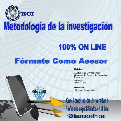 curso asesor de tesis profesional modalidad on line