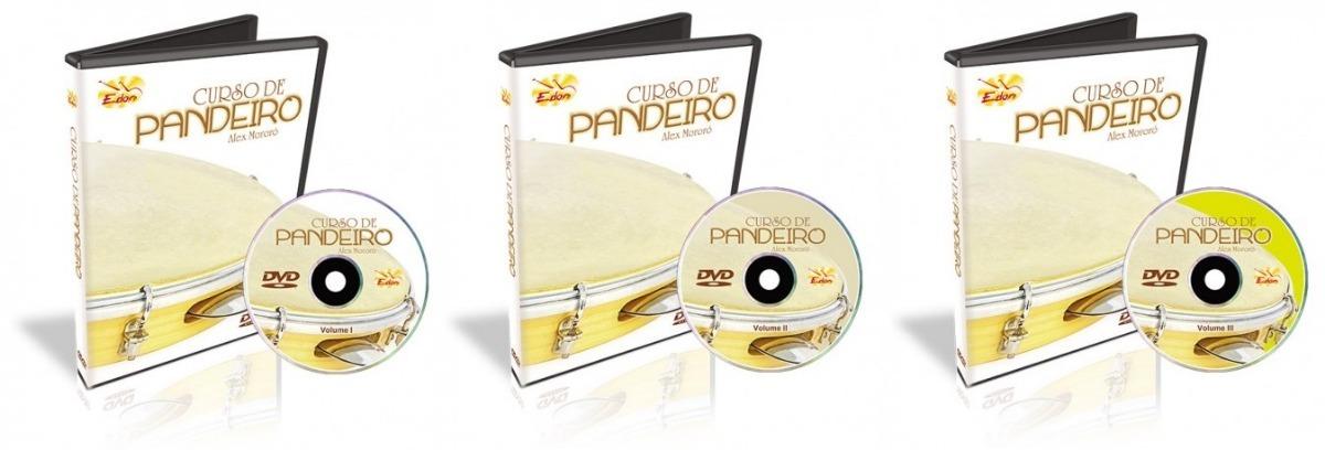 dvd de aula de pandeiro