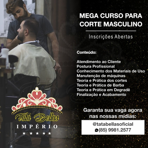 curso barbeiro faça a sua inscrição neste curso profissional
