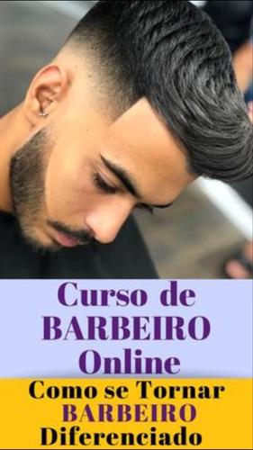 curso barbeiro profissional online