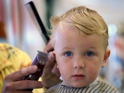 curso cabeleireiro corte de cabelo infantil