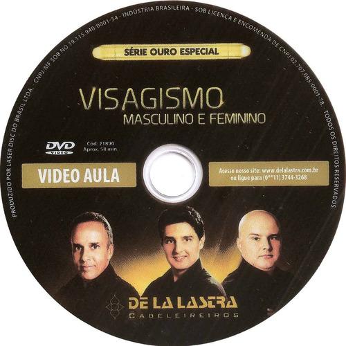 curso cabeleireiro - dvd visagismo masculino e feminino