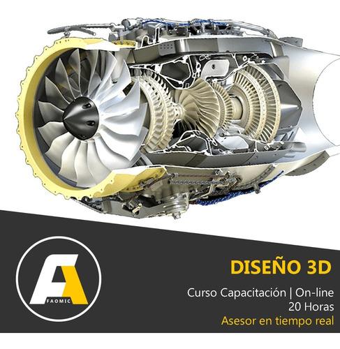curso capacitación on-line de diseño 3d cad
