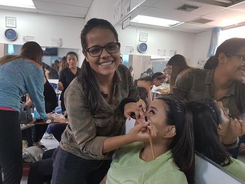 curso  cetbe depilación masaje cejas maquillaje cosmetologia