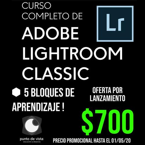 curso completo de adobe lightroom classic