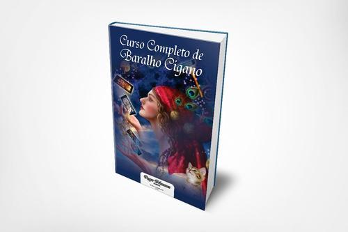 curso completo de baralho cigano apostila 280 páginas + kit