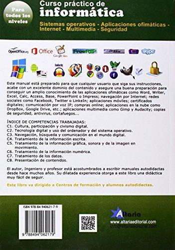 curso completo de informática : sistemas operativos, aplica