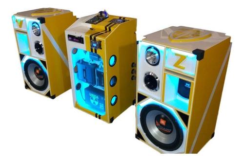 curso completo de montagem de caixas de som bob esponja