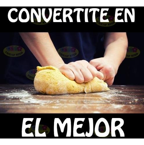 curso completo de panadería artesanal y comercial
