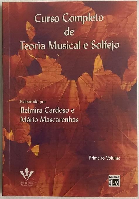 livro curso completo de teoria musical e solfejo