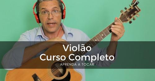 curso completo de violão - 5 dvds
