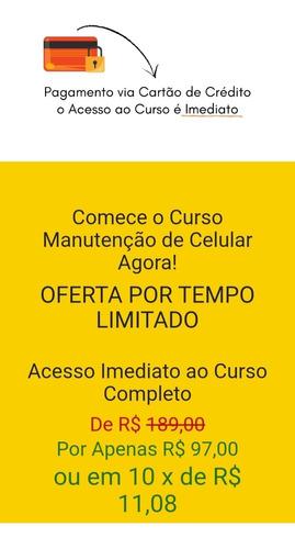 curso completo  manutenção de celulares