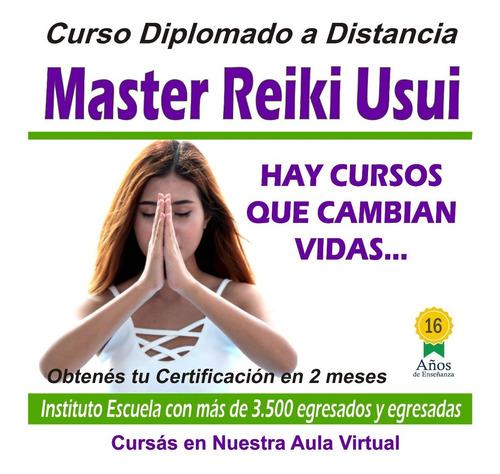 curso completo master reiki usui a distancia