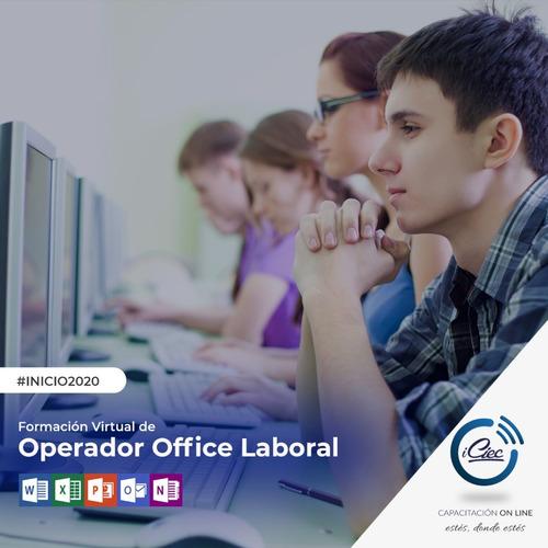 curso computación office laboral