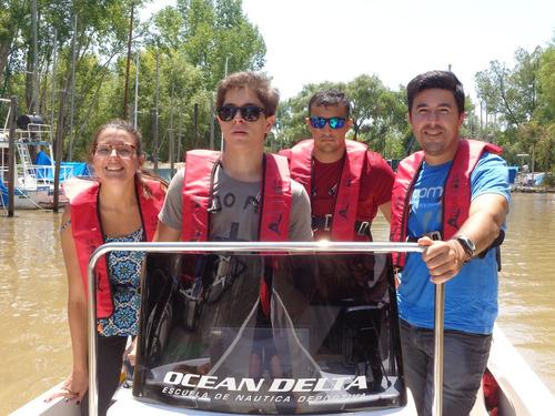 curso conductor náutico lanchas semirrigidos y motos de agua