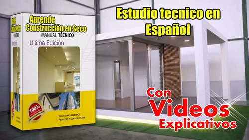 curso construcción en seco durlock con vídeos