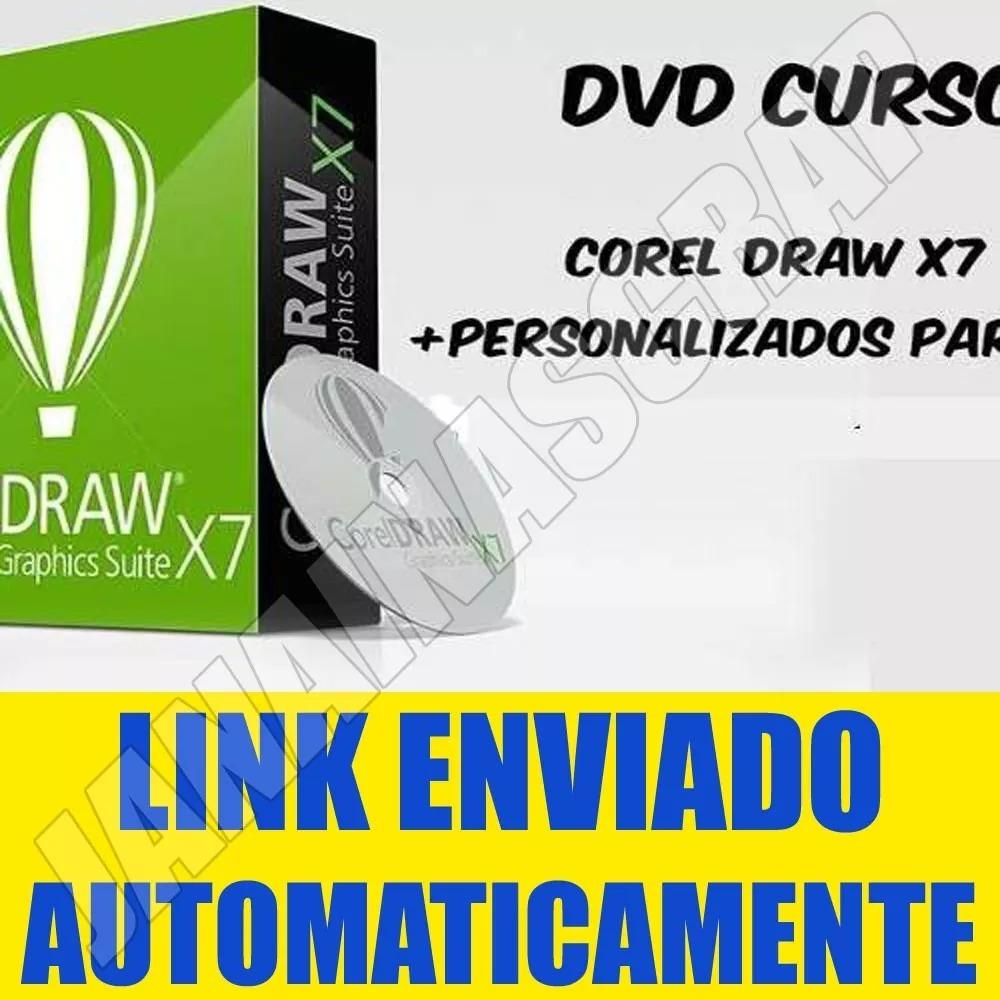 Curso Corel Draw X7 Video Aula + Curso De Personalizados