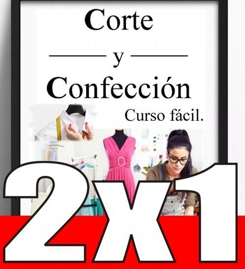 6bea2e0998f6 Curso Corte Costura Confección 61 Libros + Patrones Y Video ...