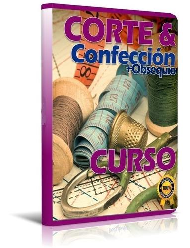 curso corte costura y confección patrones digital