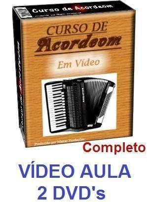 curso de acordeon sanfona aulas em 4 dvds sdf