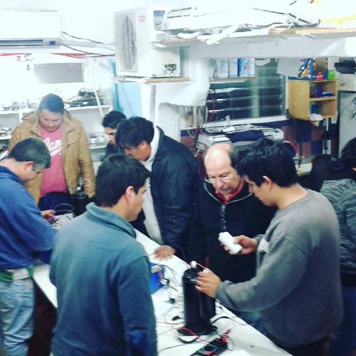 curso de aire acondicionado instalación y reparación placas