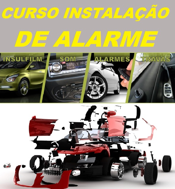 Curso De Alarme, Som, Vidro, Trava Elétrica, Insulfilm!!! - R  26,99 ... 8b48627b67