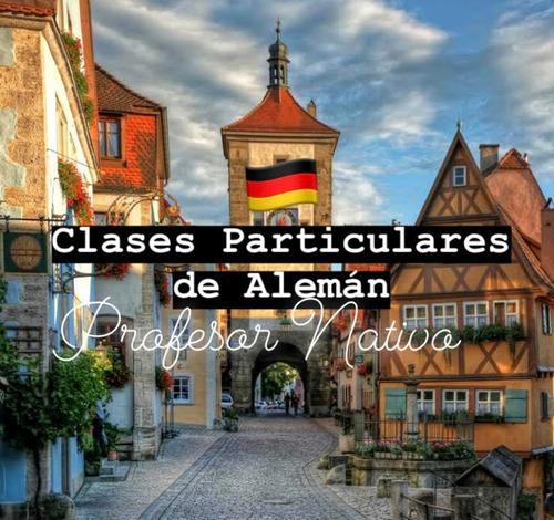 curso de alemán con profesor nativo